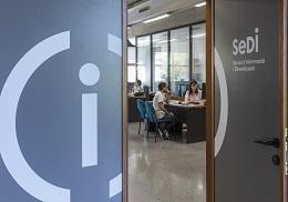 Oficina del Sedi al Campus de Blasco Ibáñez